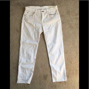 Rag & Bone Dre ankle boyfriend slim jeans, sz 28